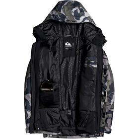 Quiksilver Mission Printed Jacket Men black sir edwards